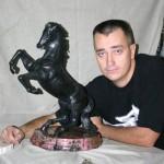 Алексей Антонов с армянской работой которую ему принесли на доработку