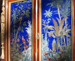 Флорентийская мозаика из цветных камней. Минералогический музей им. А.Е.Ферсмана.